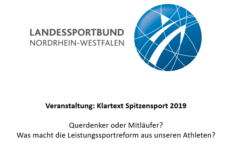 LSB: Klartext Spitzensport 2019