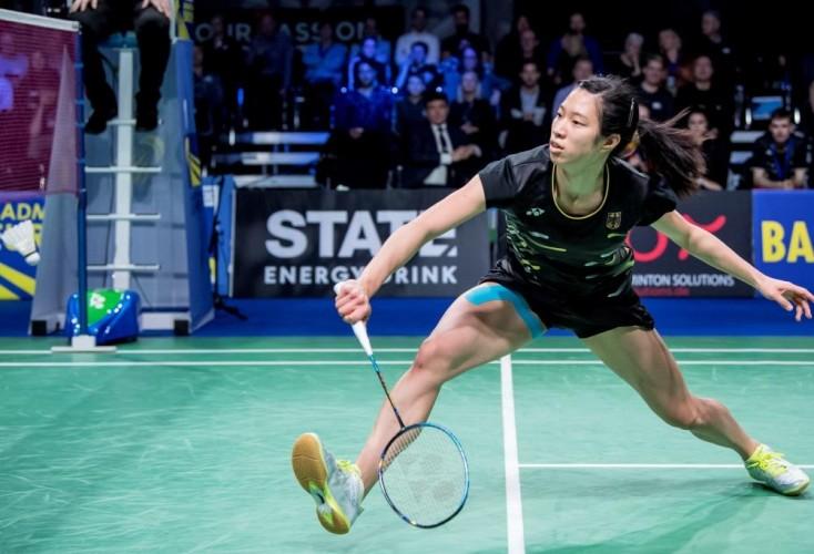 Yvonne Li vom Badminton Bundesstützpunkt Mülheim (Bild: Picture Alliance)