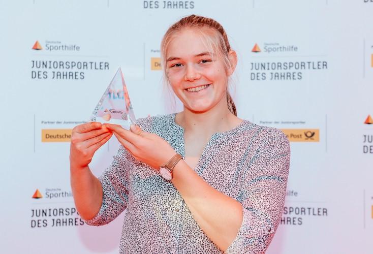 """Ruder-Talent Alexandra Föster als """"Juniorsportler des Jahres"""" 2019 ausgezeichnet (Bild: Deutsche Sporthilfe/picture alliance)"""