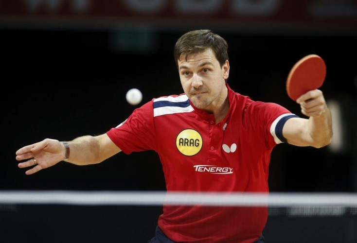 OSP-Aushängeschild Timo Boll in Aktion (Bild: Picture Alliance).