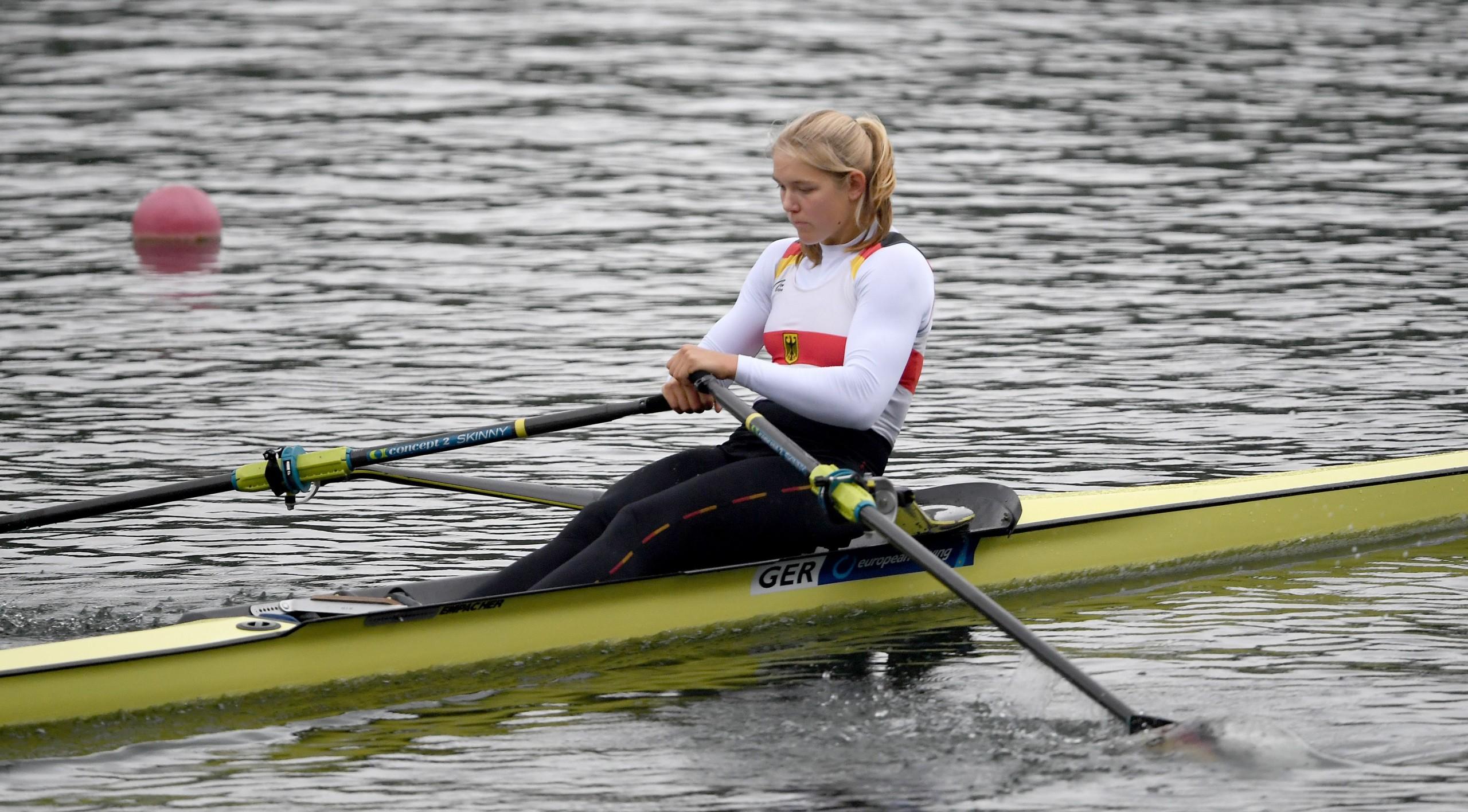 Alexandra Föster ist Vize-U23-Europameisterin