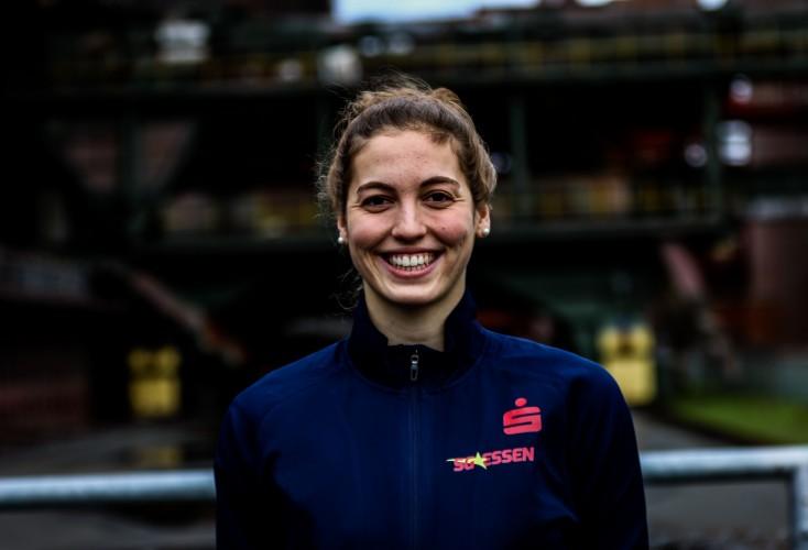Rosalie Kleyboldt ist Eliteschülerin des Jahres 2020 im Essener Eliteschulverbundsystem (Bild: Marcel Friedrich / TheSportPicturePage)