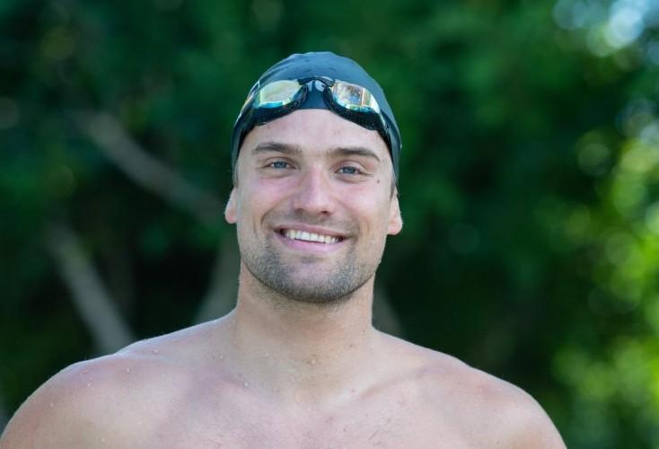 Schwimmer Marius Kusch von der SG Essen (Bild: picture alliance)