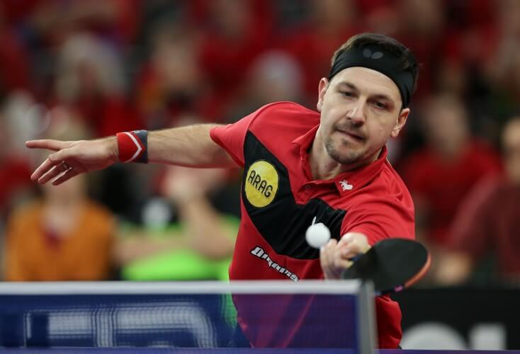 Timo Boll in Aktion (Bild: Picture Alliance)
