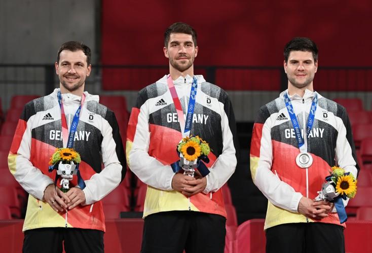 Das Herren-Team gewinnt Silber bei den Olympischen Spielen (Bild: Picture Alliance)